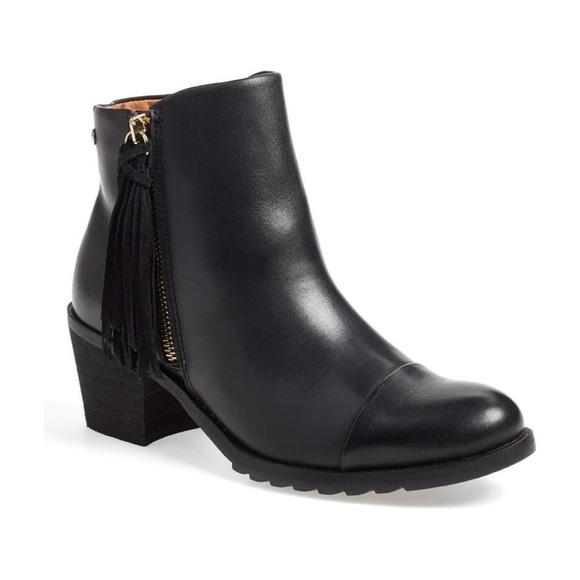 PIKOLINOS Shoes - Pikolinos Tassel Leather Andorra Boots